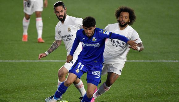 Real Madrid vs. Getafe en el Coliseum Alfonso Pérez por LaLiga Santander (Foto: AFP)