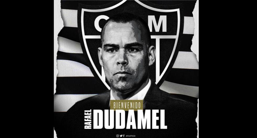 Atlético Mineiro oficializó al venezolano Dudamel como su nuevo entrenador hasta 2021.