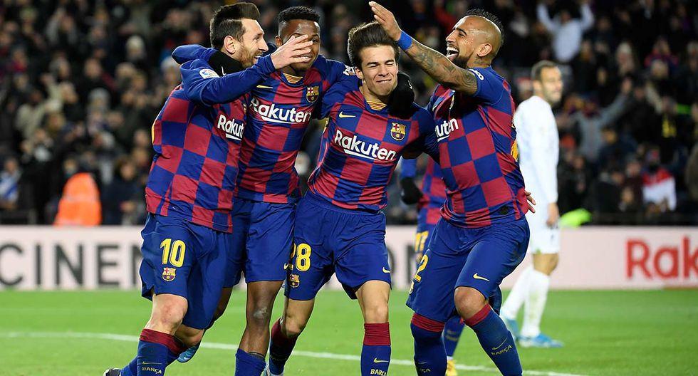 Barcelona se enfrenta a Leganés por la Copa del Rey. Conoce las horas y canales de TV para ver todos los partidos de hoy, jueves 30 de enero. (AFP)