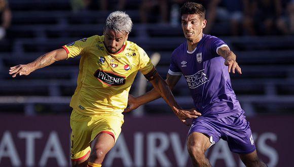 Barcelona venció 1-2 en Montevideo y ahora buscará sentenciar a su favor la llave ante Defensor Sporting. (Foto: AP)