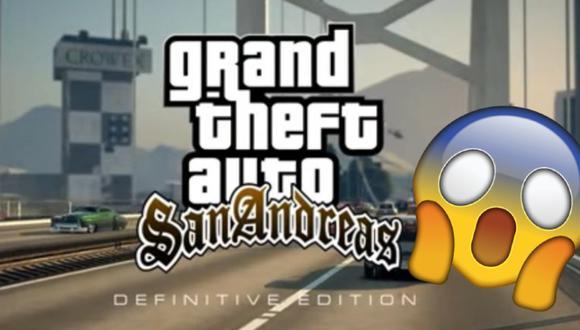 ¿PS5 con GTA San Andreas? Así sería el tráiler de este juego para la nueva consola de Sony