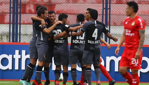 Con goles de Bernardo Cuesta, Luis Iberico y Mariano Vásquez. Melgar derrota a Sport Huancayo y es líder de la Fase 2 de Liga 1  por diferencia de goles.