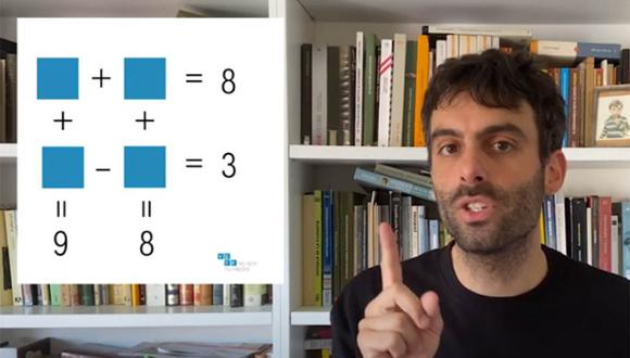 Este acertijo matemático se ha presentado como el reto viral en la actualidad entre los usuarios de Facebook. ¿Te atreves a resolverlo?   Foto: Yo soy tu profe/YouTube