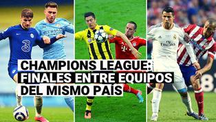 Manchester City vs. Chelsea: Repasa las finales de Champions League entre equipos del mismo país