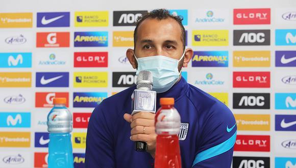 Hernán Barcos firmó por Alianza Lima a inicios del 2021. (Foto: Alianza Lima)