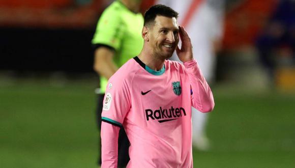 Lionel Messi habría firmado contrato por las últimas cuatro temporadas por la suma de 555.237.619 de euros. (Foto: EFE)
