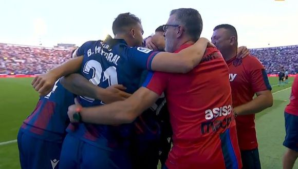 Así fueron los tres tantos con los que pierde Barcelona por LaLiga Santander