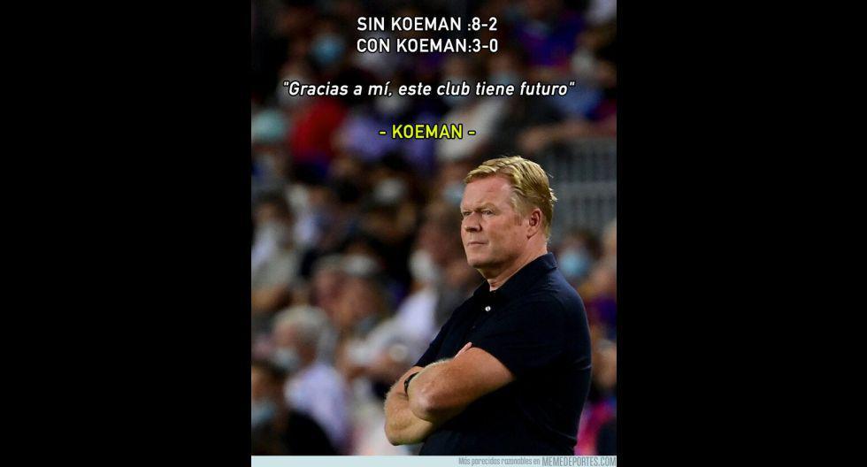 Los memes de la goleada que sufrió Barcelona en el inicio de la Champions League. (Foto: Facebook)