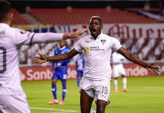 Con dos autogoles del 'Bi': Liga de Quito ganó 4-0 a Deportivo Binacional en la Copa Libertadores