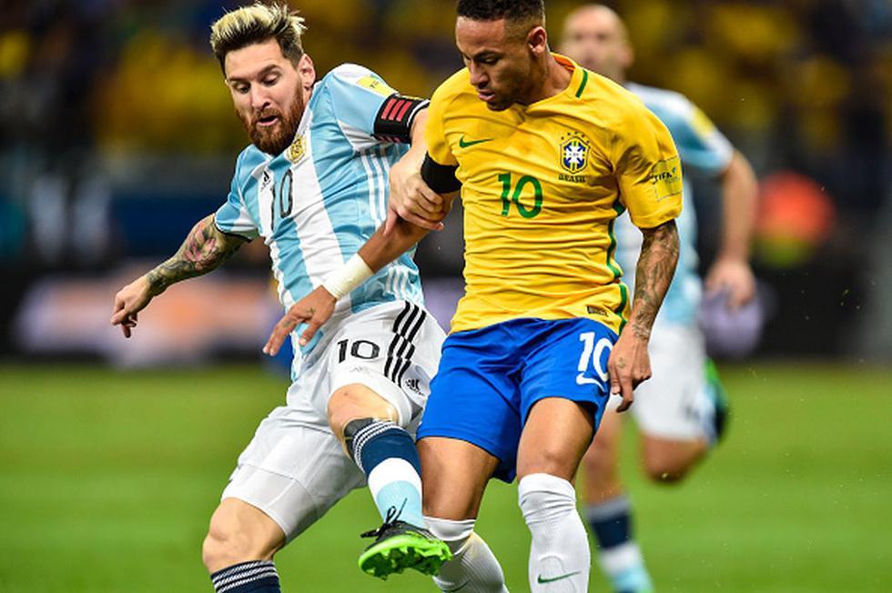 El XI ideal de los cracks sudamericanos en la última década: brasileños, argentinos y un peruano. (Getty)