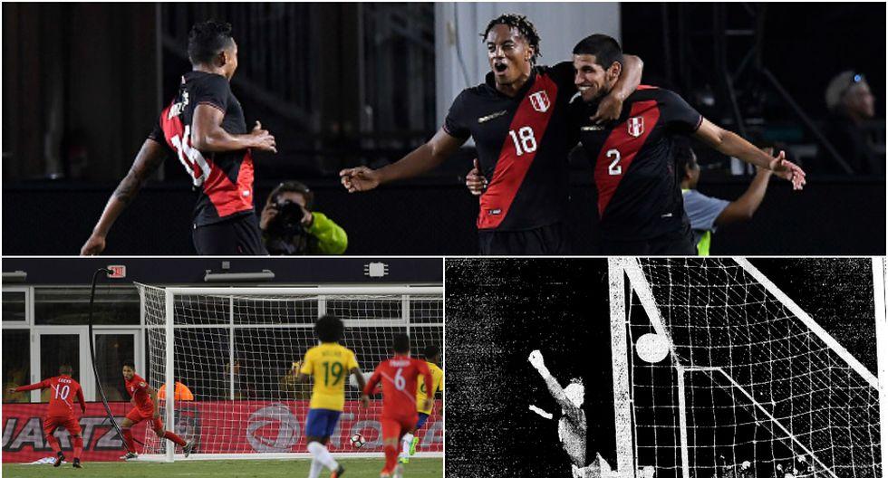 La Selección Peruana le ganó cuatro veces a Brasil en su historia, dos con Ricardo Gareca, (Diseño: Depor)
