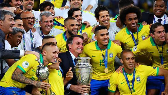 Brasil es el vigente campeón de la Copa América. (Getty)