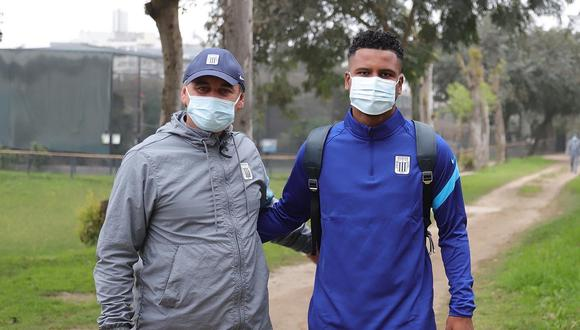 Aldair Rodríguez se sumó a los trabajos con los blanquiazules (Foto: Alianza Lima)