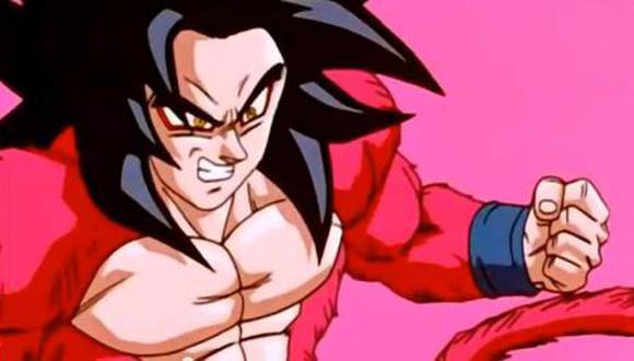"Goku se transformó en Super Saiyan 4 en ""Dragon Ball GT"", pero esta forma no se ha visto en ninguna otra serie canon (Foto: Toei Animation)"