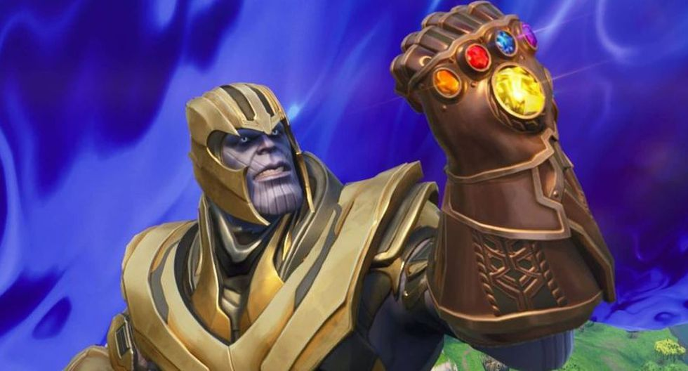 Thanos de Avengers: Endgame en Fortnite