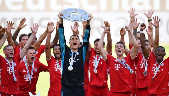 Bayern Munich cerró la Bundesliga con un triunfo 4-0 ante Wolfsburgo (Foto: Getty Images)