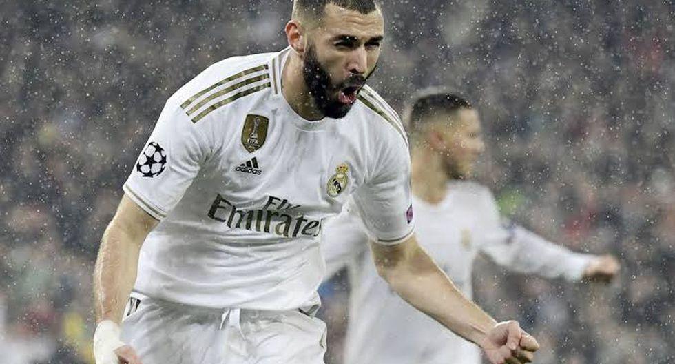 6. Karim Benzema del Real Madrid - 4 goles. (Foto: Getty)