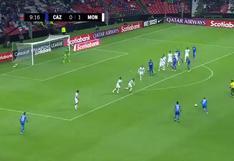 Hay partido en el Azteca: Pineda puso el 1-1 en el Cruz Azul vs. Monterrey [VIDEO]