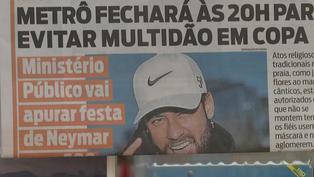 Críticas a Neymar por la presunta organización de una megafiesta de año nuevo