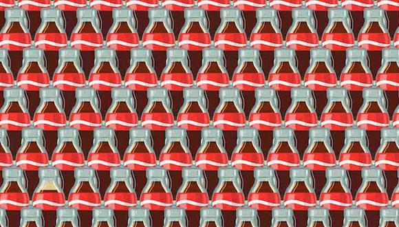 Tu misión, si decides aceptarla, es ubicar las botellas con menos refresco en la imagen. (Foto: Noticieros Televisa)