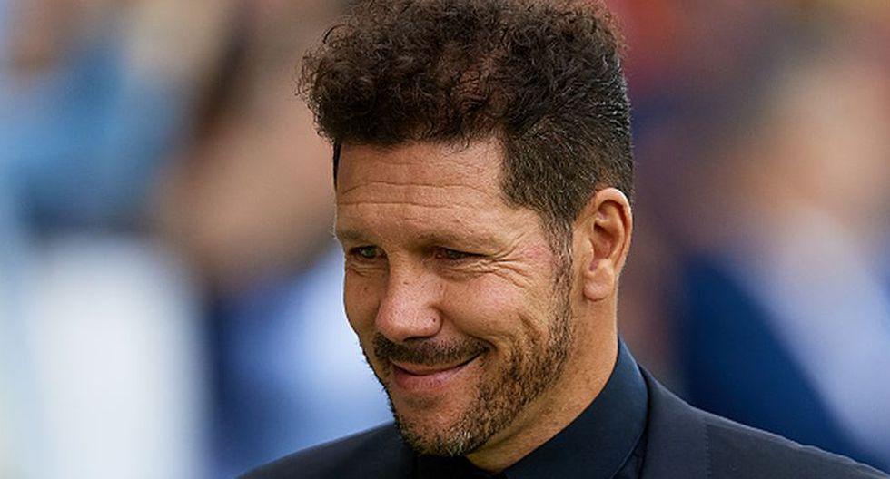 """El 'Cholo', sin embargo, manifestó """"estar muy cómodo"""" en el Atlético de Madrid (Getty)"""