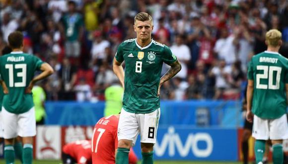 Toni Kroos medita su futuro en la selección alemana. (Foto: Reuters).