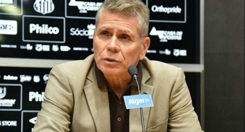 Paulo Autuori estuvo hace poco como director deportivo de Santos FC. (Foto: Santos FC)