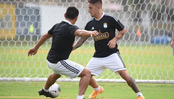 Alejandro Hohberg se unió a los entrenamientos en La Florida. (Foto: Sporting Cristal)