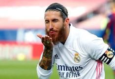 Para ti, Florentino: PSG le hizo millonaria oferta a Sergio Ramos para que sea su nuevo fichaje