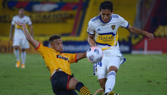 Barcelona SC y Boca Juniors chocaron en la tercera jornada desde el Monumental de Guayaquil (Foto:  AFP)