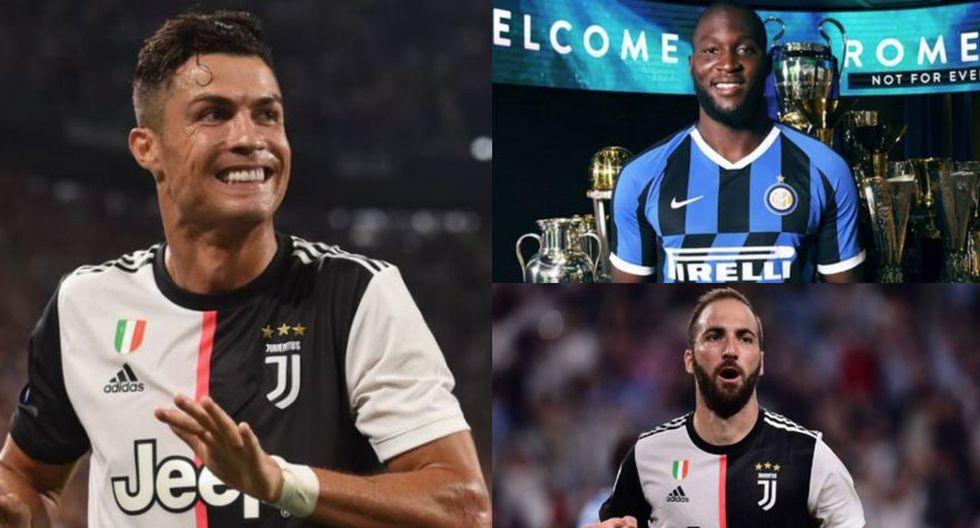 Cristiano Ronaldo ha ganado la Serie A con Juventus. (Fotos: Difusión)