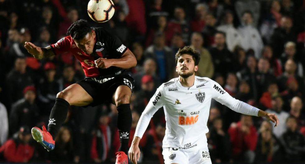 Colón remontó ante Atlético Mineiro por 'semis' de Copa Sudamericana.