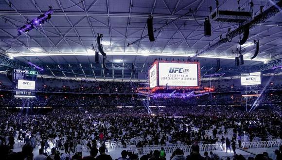 UFC tendrá un evento con el 100% de espectadores. (Foto: UFC)