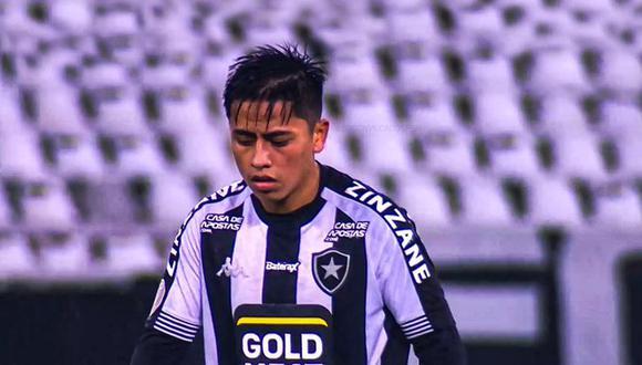 Lecaros había llegado a Botafogo en enero de 2020 procedente de Real Garcilaso, ahora Cusco FC. (Foto: Difusión)