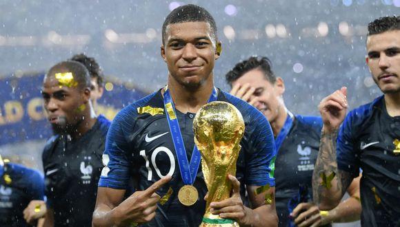 Kylian Mbappé llegó al PSG en 2017 desde el AS Mónaco. (AFP)