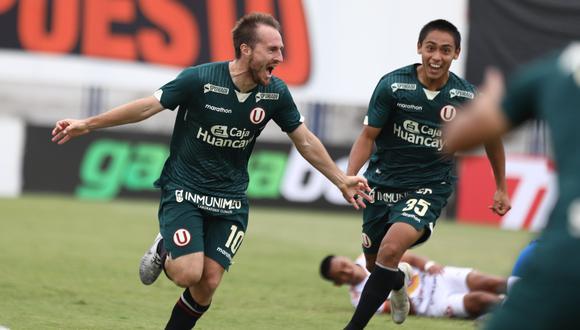 El gol de Hernán Novick en la lista de los tantos más rápidos en la historia de la Liga 1. (Foto: Universitario)