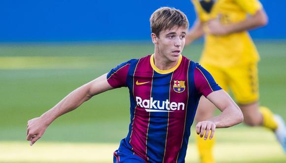 Nico Gonzáles juega en el FC Barcelona desde los once años. (Foto: Pere Puntí)