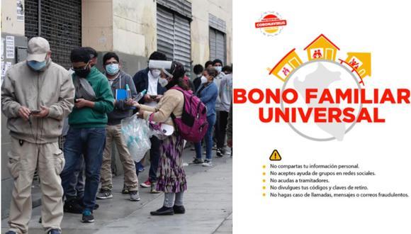 CLIC Bono Universal 760 soles, aquí: cómo, desde cuándo y en qué lugares cobrar