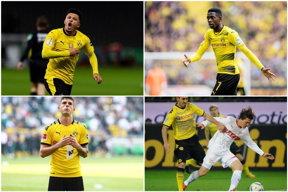 Con Jadon Sancho, las 20 ventas más caras en la historia del Dortmund. (Getty