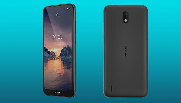 Los nuevos Nokia 1.3 llegan con funciones de Android Go y se podrá actualizar a Android 11 en un futuro. (Foto: Nokia)