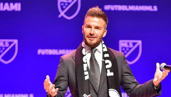 David Beckham vendió gran parte de sus acciones a los hermanos Mas. (Agencias)