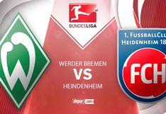 EN DIRECTO Werder Bremen vs Heidenheim EN VIVO vía FOX Sports con Pizarro: juegan play off de la Bundesliga 2020