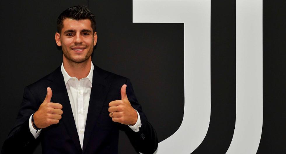 En Madrid no se escuchará bien: Morata fue presentado en la Juventus y dijo que está en el lugar correcto