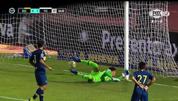 Golpe para Boca: Federico Gonzalez abrió el marcador y puso a Tigre de cara al título de la Copa Superliga