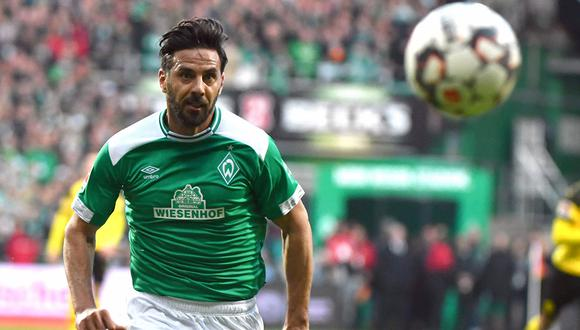 Werder Bremen, donde milita Claudio Pizarro, visita al Hoffenheim por la Bundesliga. (Foto: AFP)