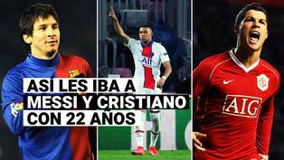 Hablan los números: así les iba a Messi y Cristiano cuando tenían la edad de Mbappé
