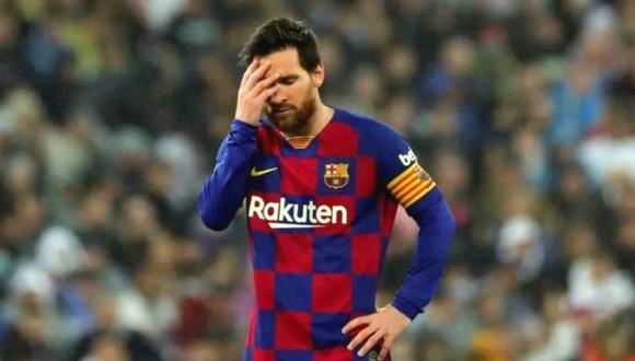 Lionel Messi quiere dejar el FC Barcelona, pero su situación contractual se lo impediría. (Foto: AFP)