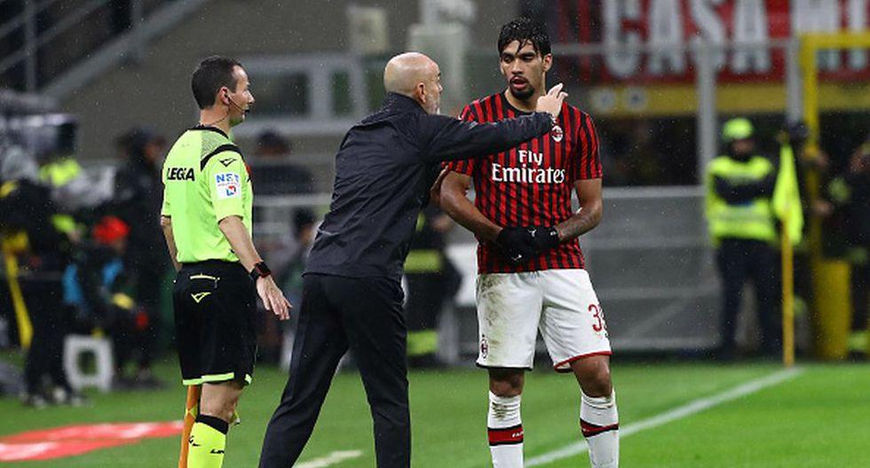 Lucas Paquetá llegó al AC Milan en la temporada 2018/19. (Getty)