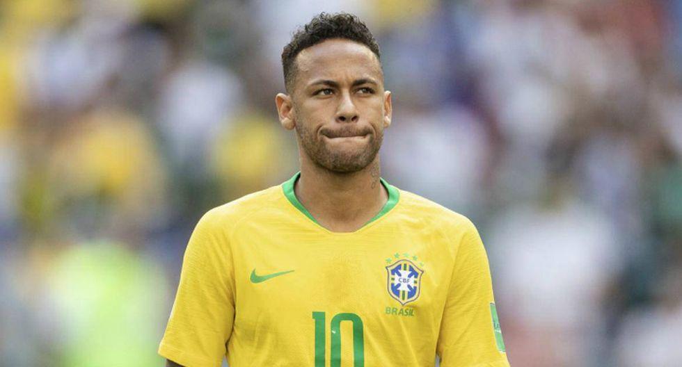 Neymar | Brasil: ligamento del tobillo derecho. (Getty Images)