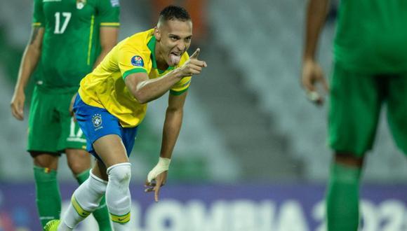 Brasil le ganó 5-3 a Bolivia por el Preolímpico Sub 23 (Internet)
